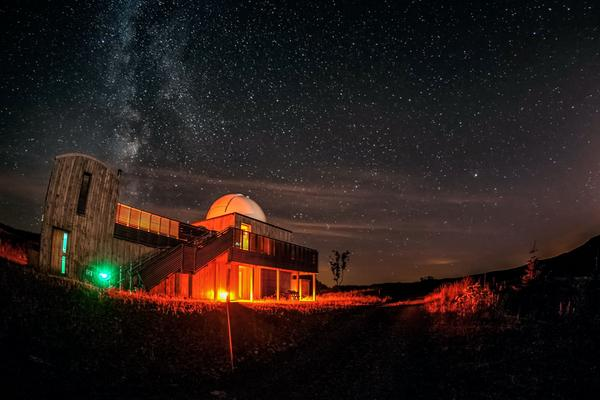 Beautiful night sky over the Dark Sky Observatory, Dalmellington, Ayrshire © Ayrshire & Arran Tourism Team