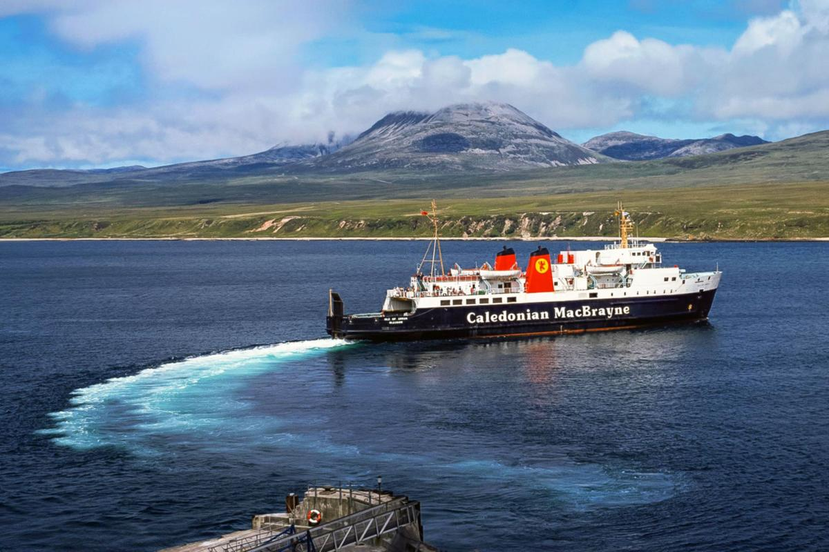 Scottish Ferry Port To Get To The Islands