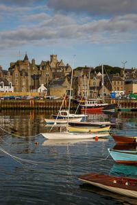 Small Boats Harbour & Victoria Pier , Lerwick, Shetland