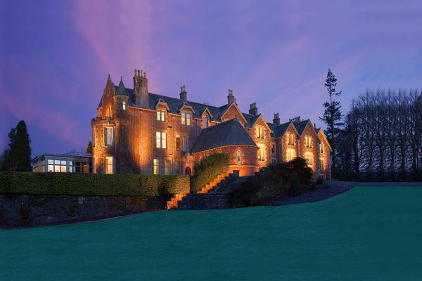 The Cromlix Hotel at night, Dunblane, Stirling © InverlochyHotelGroup