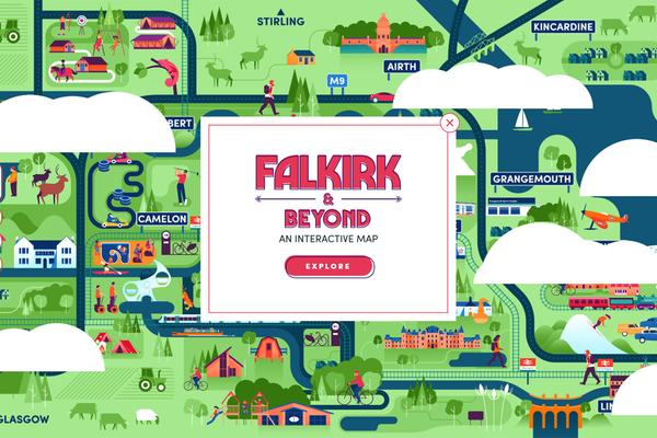 Falkirk Interactive Map
