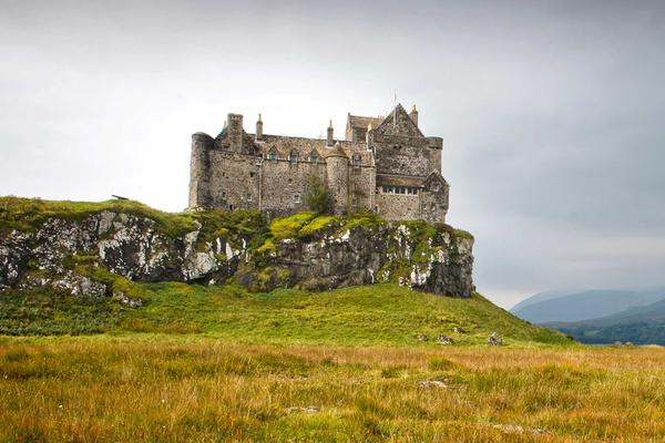 Duart Castle on the Isle of Mull, Inner Hebrides