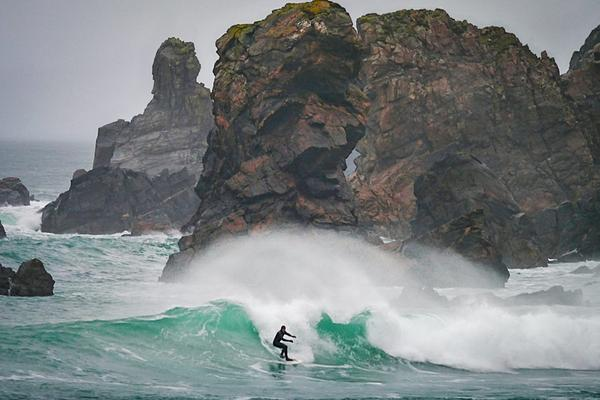 Scottish surfing in the Outer Hebrides © istockphoto