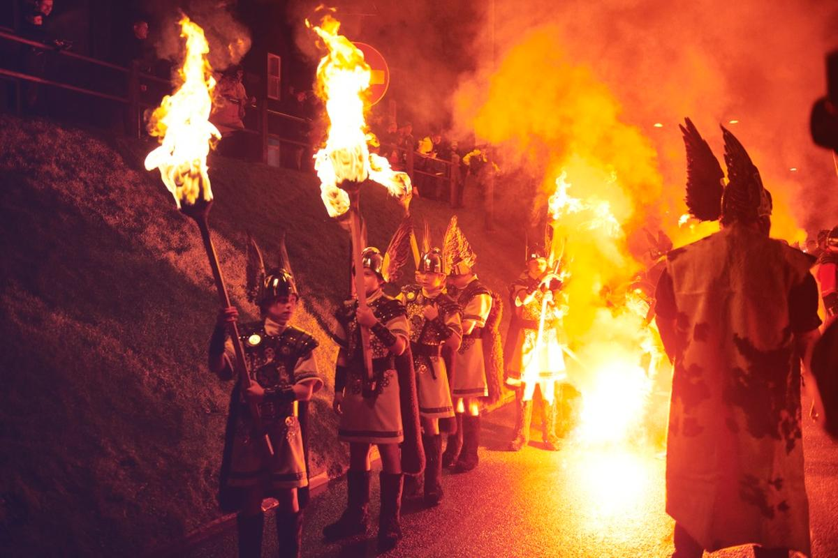 Shetland's Viking Fire Festival, Up Helly Aa