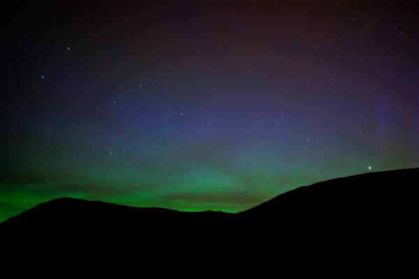 Northern Lights in Shetland © istockphoto