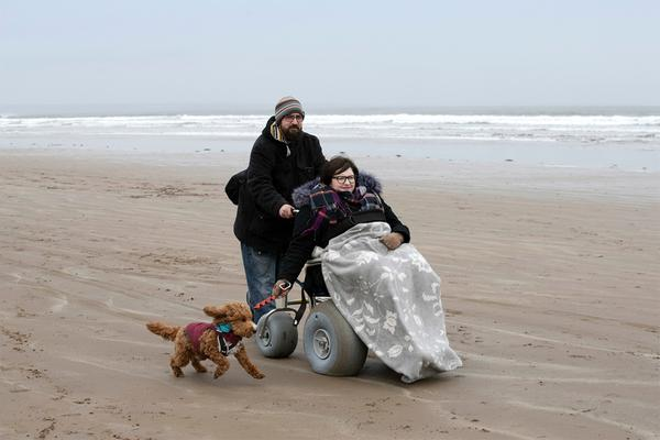 From Sarah Lex pictured using one of St Andrews Beach Wheelchairs