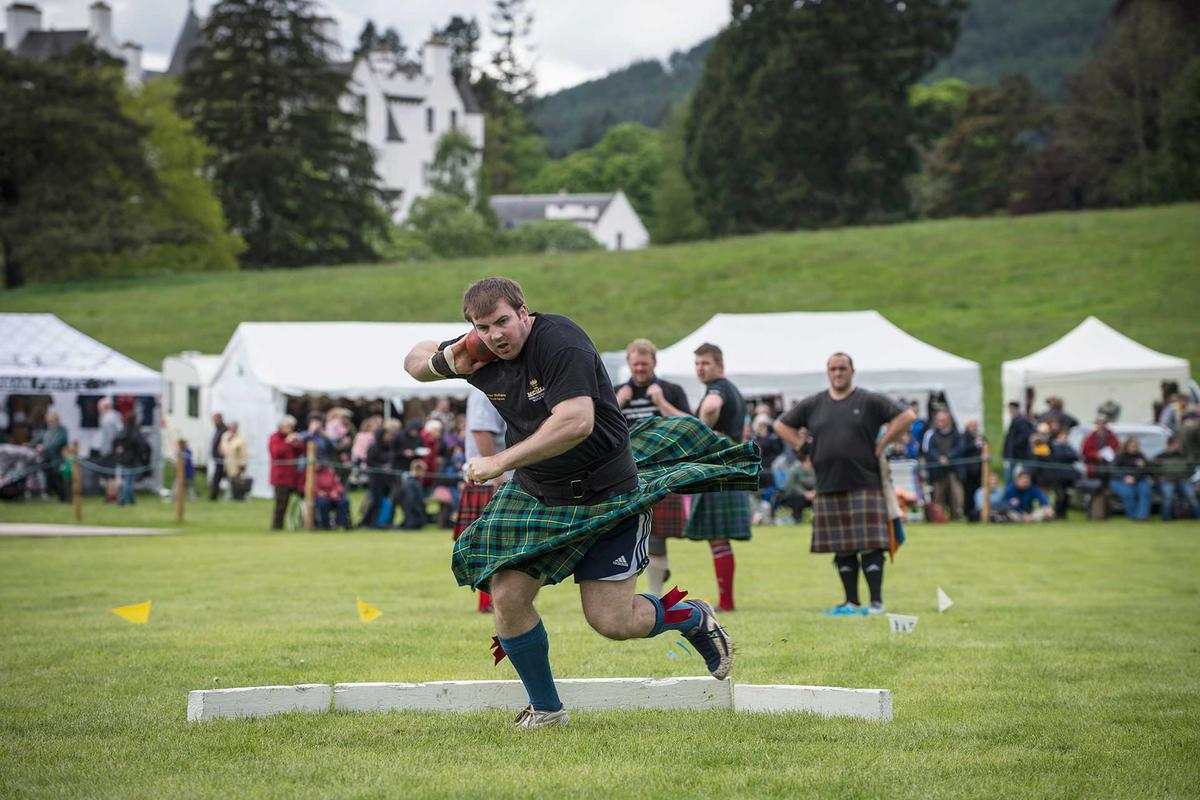 Highland Games in Scot...