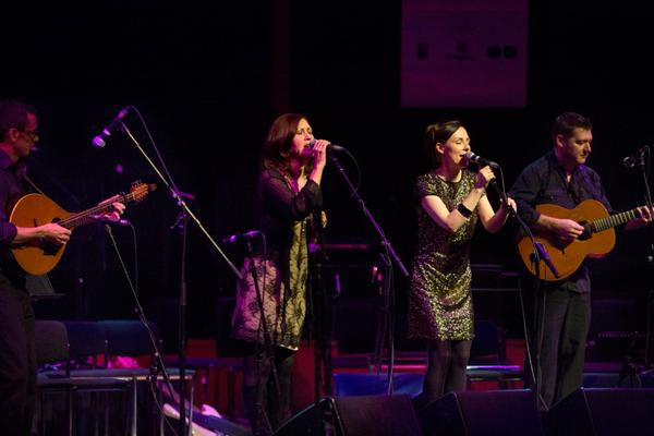 Celtic Connections in The Glasgow Royal Concert Hall