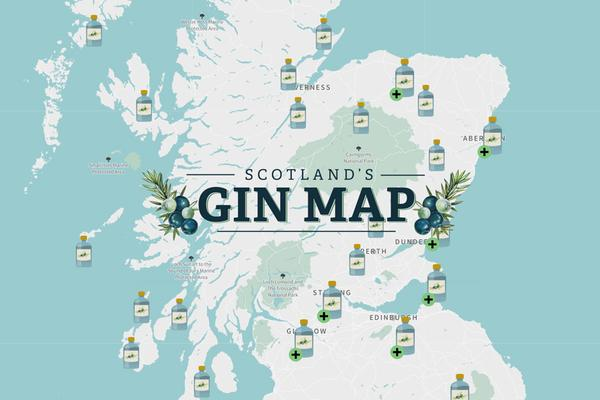 Whisky Karte Schottland.Gin Distilleries Tastings Tours In Scotland Visitscotland
