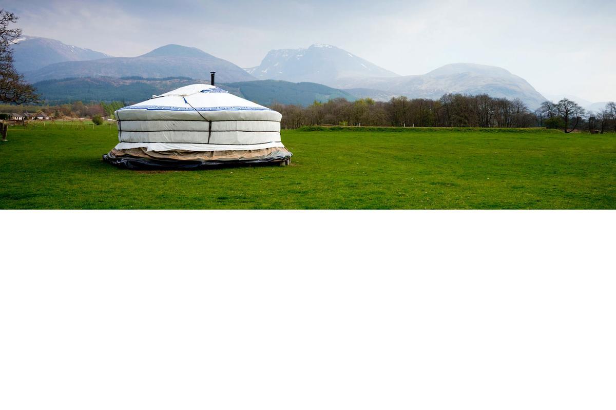 Yurts Glamping Holidays Visitscotland