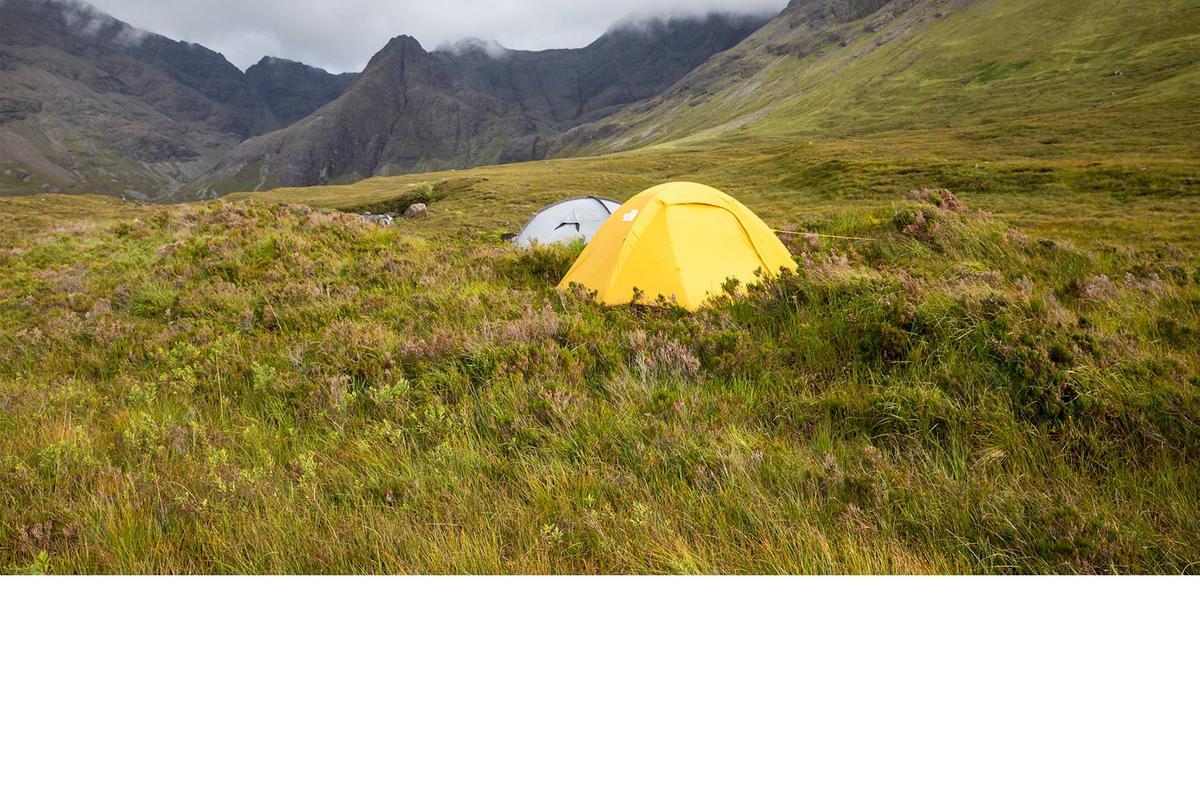 Camping on Skye - Campsites, Caravan Sites & Wild Camping ...