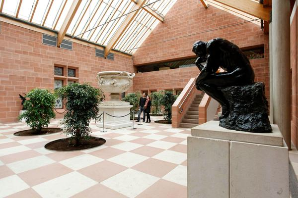 Inside the Burrell Collection in Pollok Country Park, Glasgow
