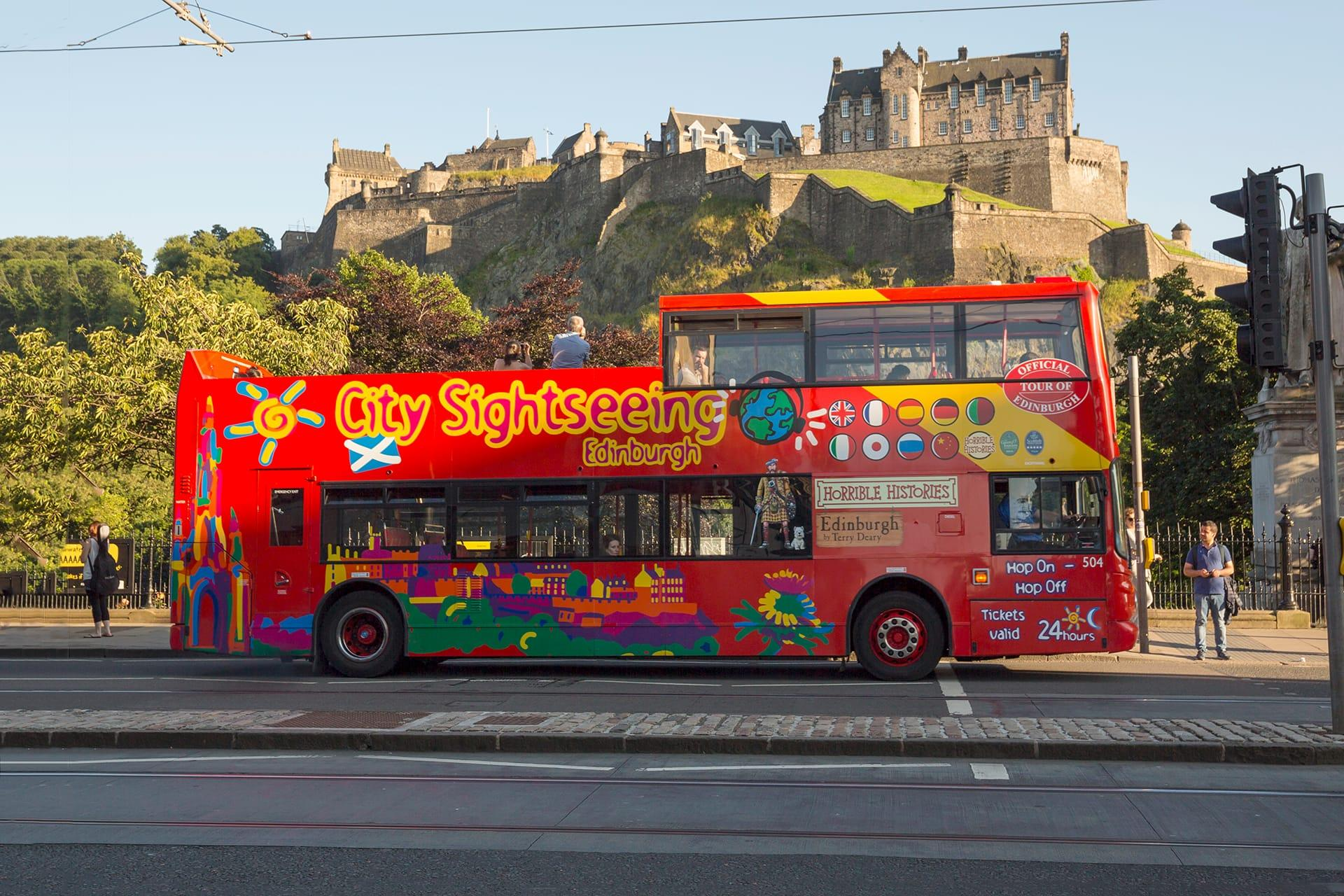 Bus Tour Perth Scotland