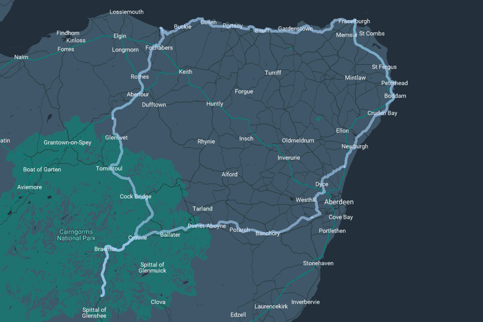 North East 250: Schottlands neuste Route für Selbstfahrer ...
