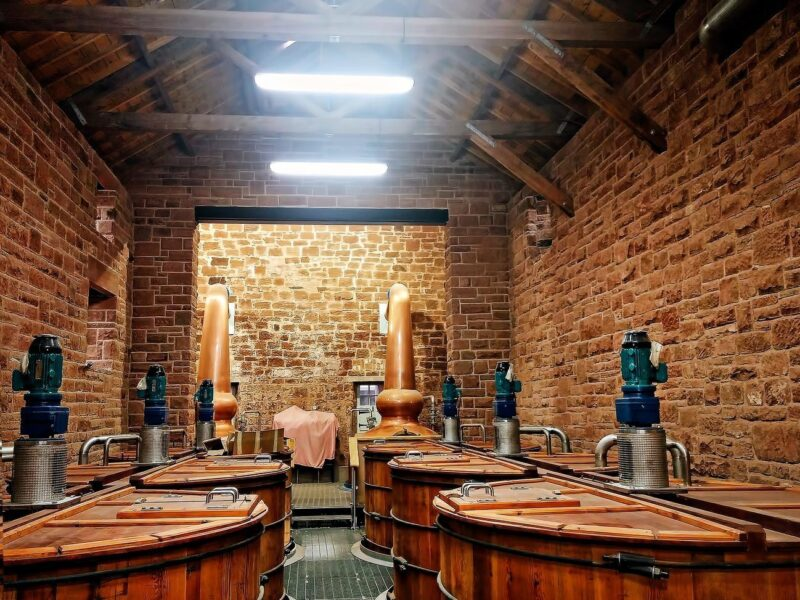 Annandale Distillery Situated In Dumfries Galloway view 2