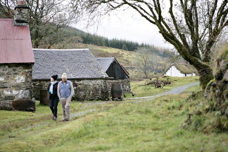 Auchindrain village