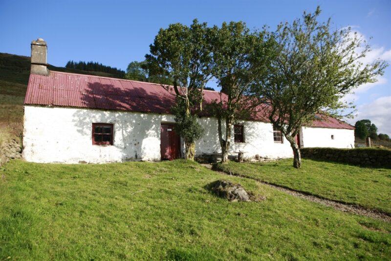 Auchindrain cottage