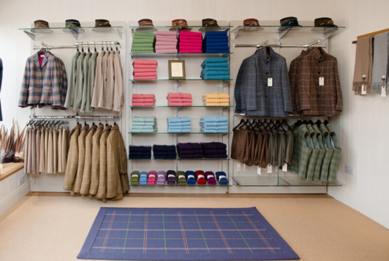 Campbell's of Beauly Shop Clothing Racks