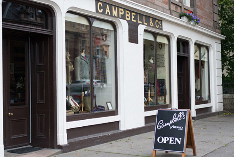 Campbell's of Beauly Shop Frontage