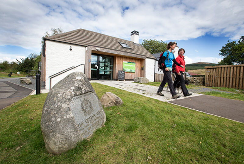 Clatteringshaws Visitor Centre