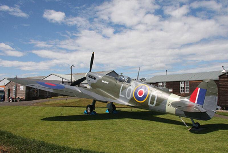 Montrose Air Station Museum Spitfire