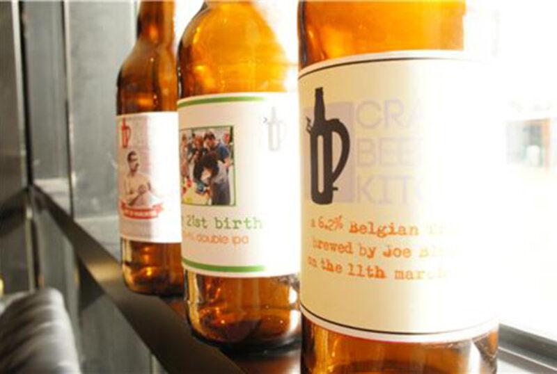 Stewart Brewing bottles