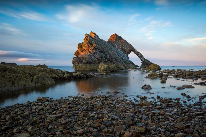 Bow Fiddle Rock, Moray