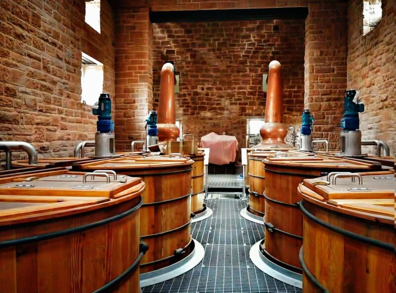 Annandale Distillery Situated In Dumfries Galloway view 1