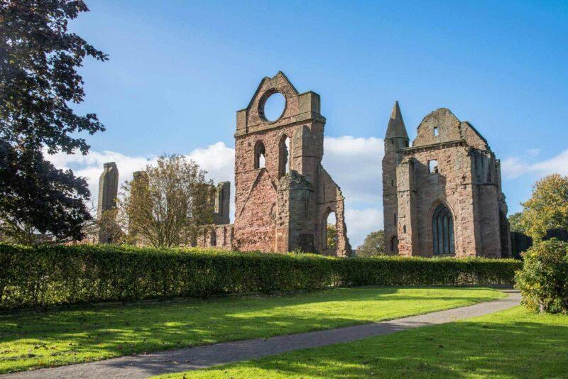 Arbroath Abbey view 1
