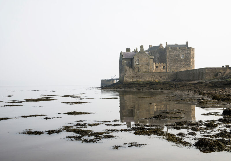 Blackness Castle from the water