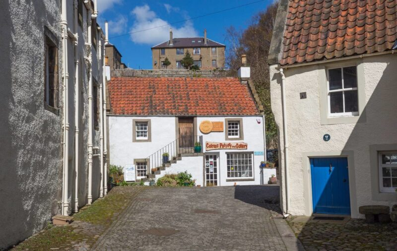 Culross Pottery And Gallery In The Royal Burgh Of Culross