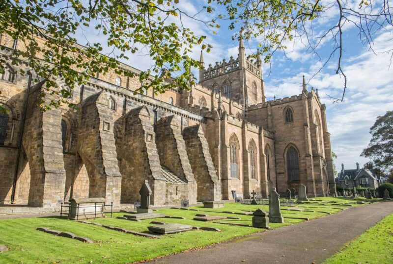 Dunfermline Abbey view 1