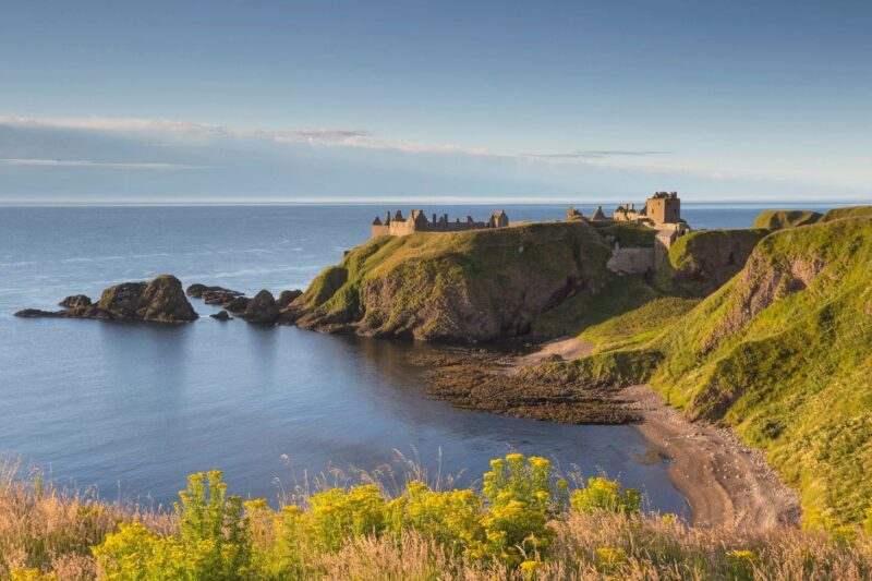 Dunnottar Castle view 3