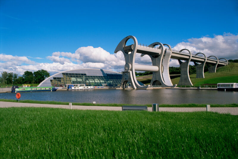 Innovative Structure Of The Falkirk Wheel