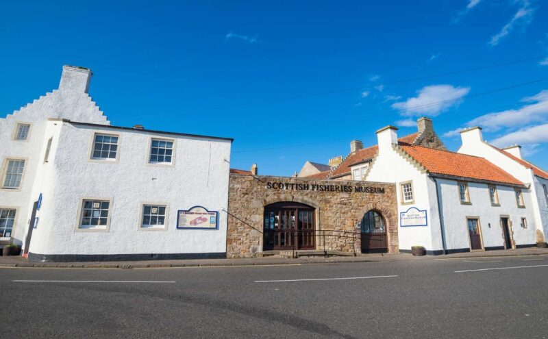 Scottish Fisheries Museum Anstruther Fife view 2