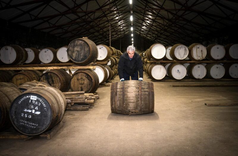 The Bonded Warehouse At The Famous Grouse Experience And Glenturret Distillery
