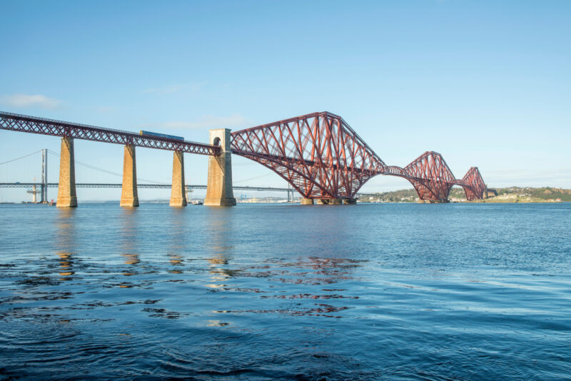 The Forth Bridge Viewed From South Queensferry