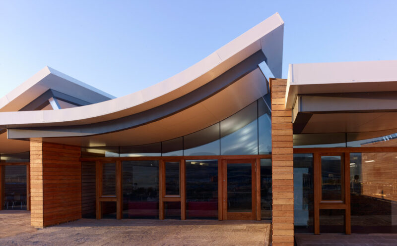 The New Culloden Battlefield Visitor Centre