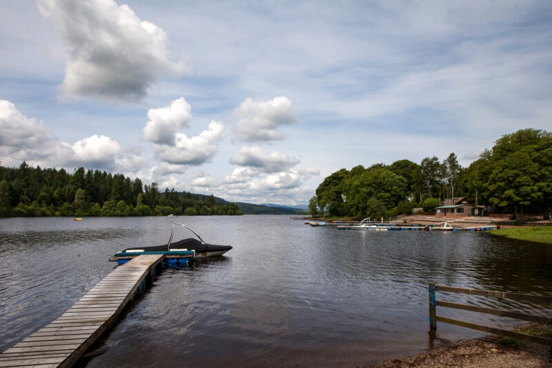 Water Sports At The Galloway Activity Centre Loch Ken