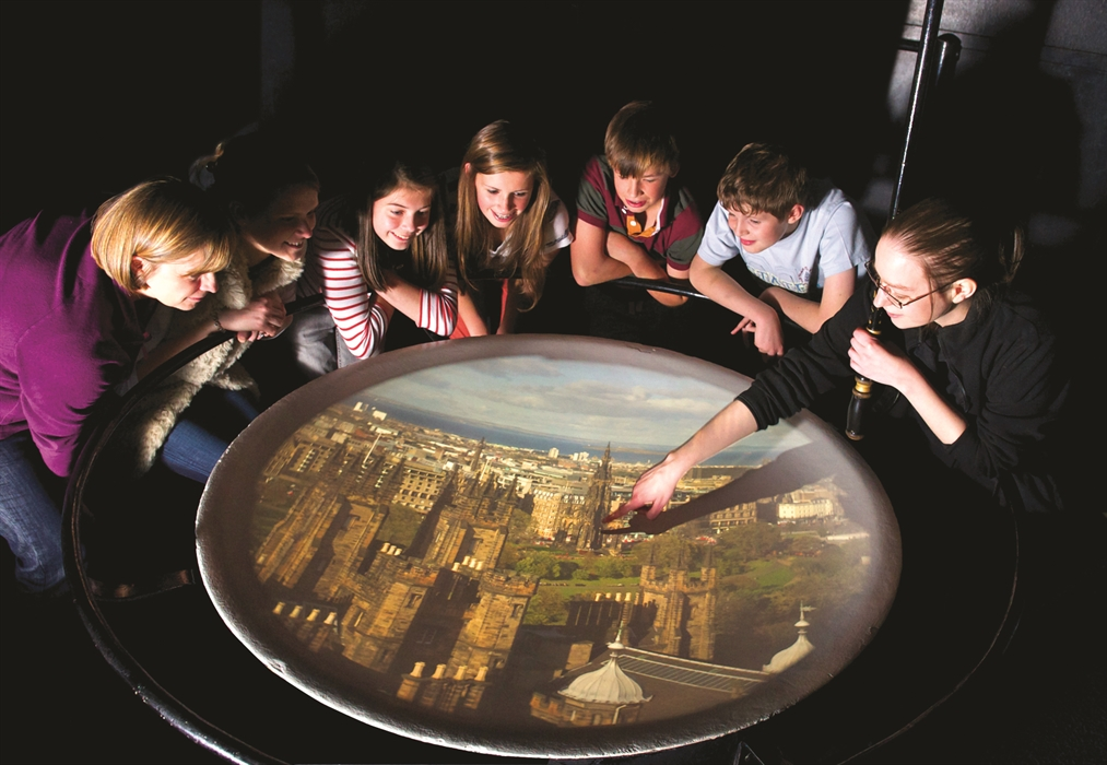 Camera Obscura And World Of Illusions Edinburgh