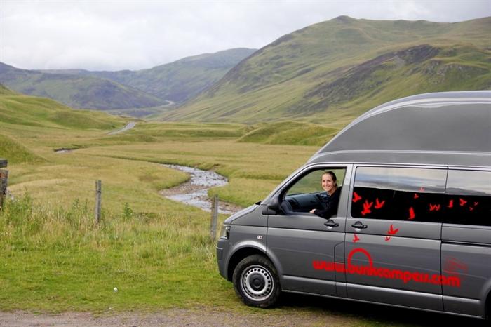 Wonderful Compass Avantgarde 180 Motorhome For Hire In Near Edinburgh Scotland