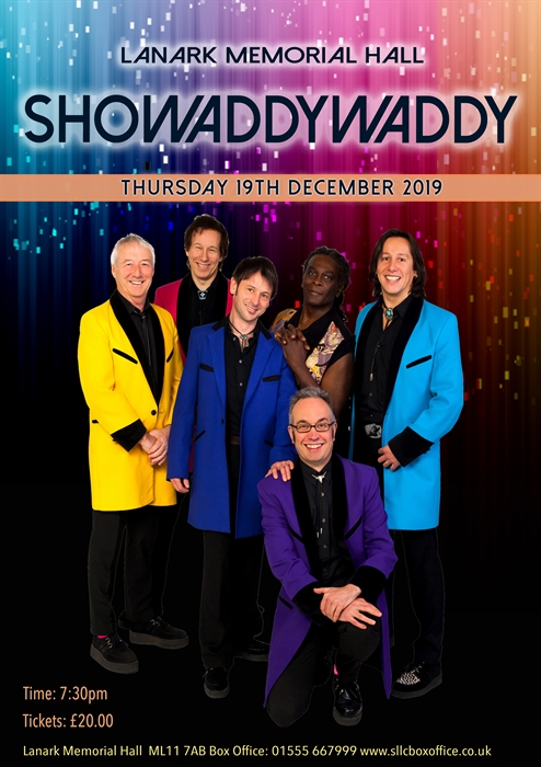 Showaddywaddy, Dunfermline – Pop, Rock and Contemporary