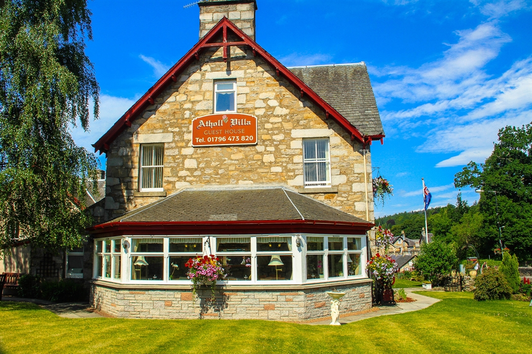 Atholl Villa Guest House Pitlochry Scotland