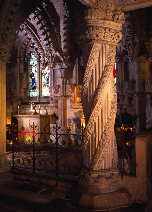 Rosslyn Chapel Roslin Churches Cathedrals Amp Abbeys