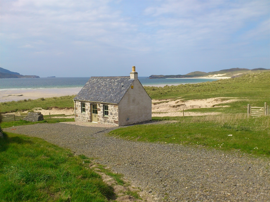 balnakeil beach bothy lairg self catering visitscotland
