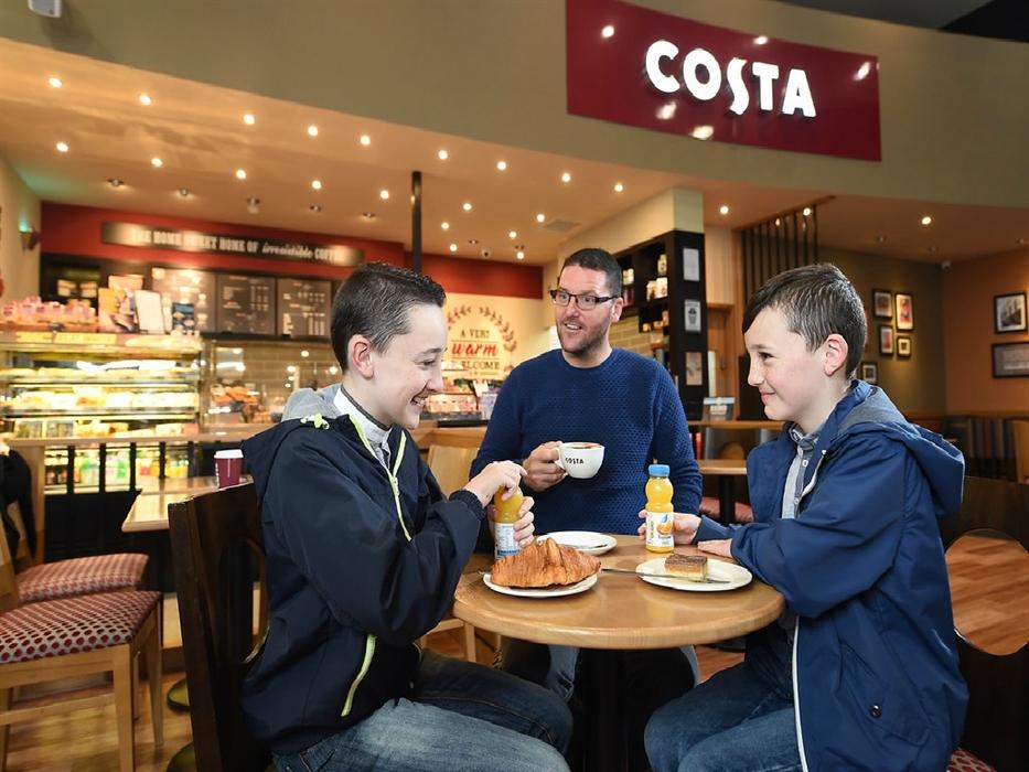 Costa Coffee At The Quay Glasgow Coffee Sandwich Bars