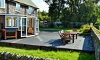 Terrace with quality garden furniture to enjoy the stunning surrounds
