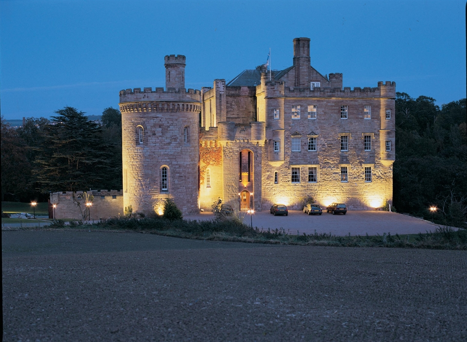 Exterior of Dalhousie Castle