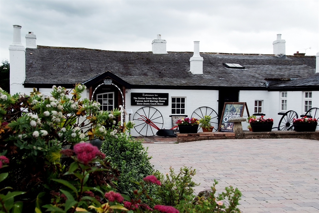 Gretna Green Famous Blacksmiths Shop Gretna Green