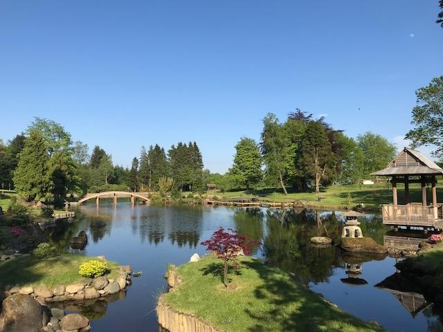 The Japanese Garden At Cowden Castle Scio Dollar Gardens Visitscotland